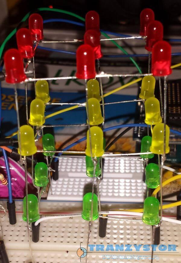 LED Cube 3x3x3