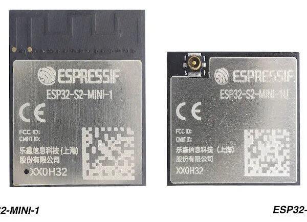 Espressif prezentuje moduły ESP32-S2-MINI