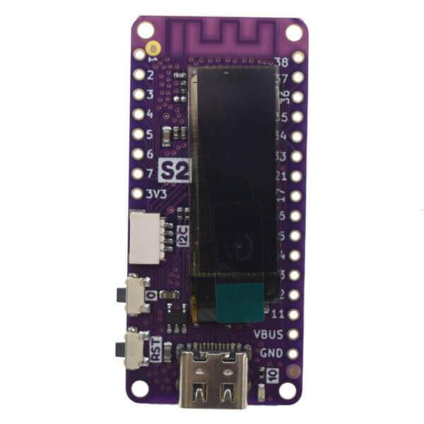 LOLIN S2 Pico – ESP32-S2 z wyświetlaczem OLED