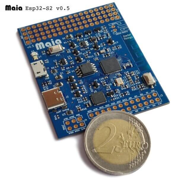 Maia ESP32-S2 płytka rozwojowa ze zintegrowanym micro USB OTG