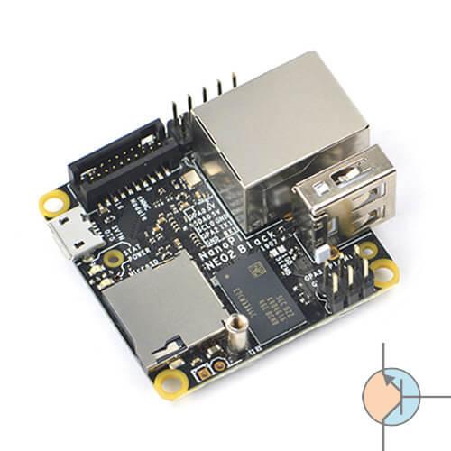 NanoPI NEO2 Black ze złączem eMMC oraz 1GB RAM