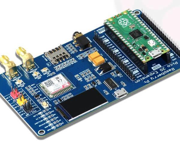 Raspberry Pi Pico – płytka rozszerzeń Pico 2G z GSM/GPRS i GNSS