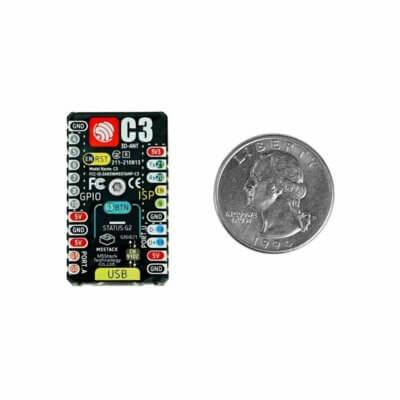 Płytka M5Stamp C3 RISC-V obsługuje WiFI 4, Bluetooth 5.0