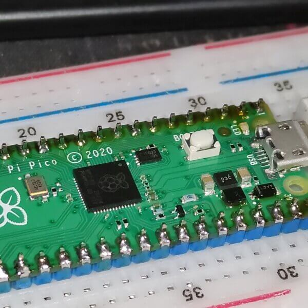 Raspberry Pi Pico – odczyt temperatury