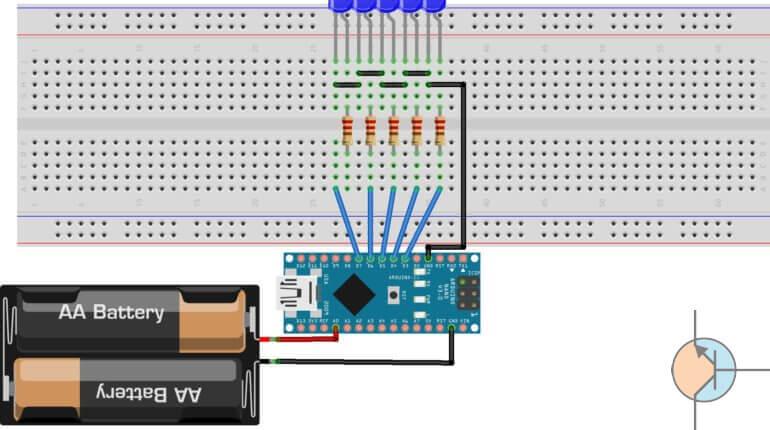 arduino miernik akumulatora