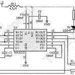Konwerter RS232C/RS232 +5V
