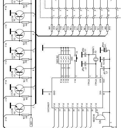elektroniczna klepsydra