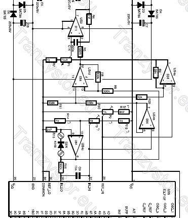 Termometr cyfrowy z termostatem schemat ideowy