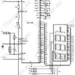 Mini Amperomierz/Woltomierz cyfrowy z wyświetlaczem LCD