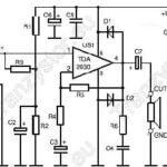 Monofoniczny wzmacniacz mocy 1×15W na TDA2030