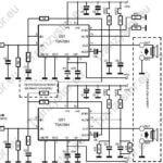 Wzmacniacz mocy na TDA7294 2×100W lub 1×200W