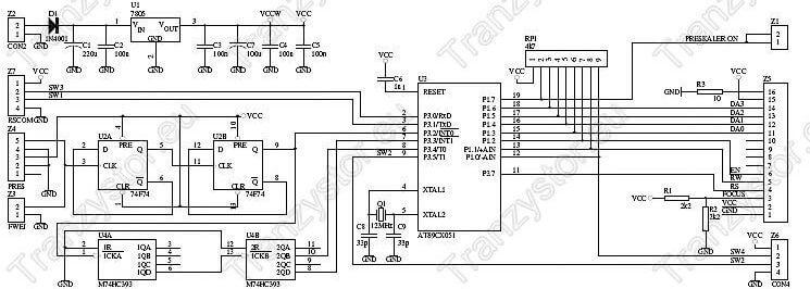 Mikroprocesorowy częstościomierz 10Hz-100MHz
