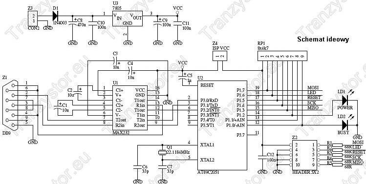 Programator ISP AVR