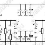 Wzmacniacz mocy 2×50W lub 1×100W