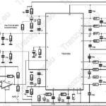 Stereofoniczny wzmacniacz mocy 2×100W na TDA7250