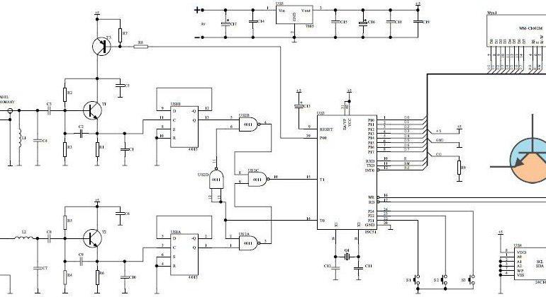 Mikroprocesorowy miernik LC