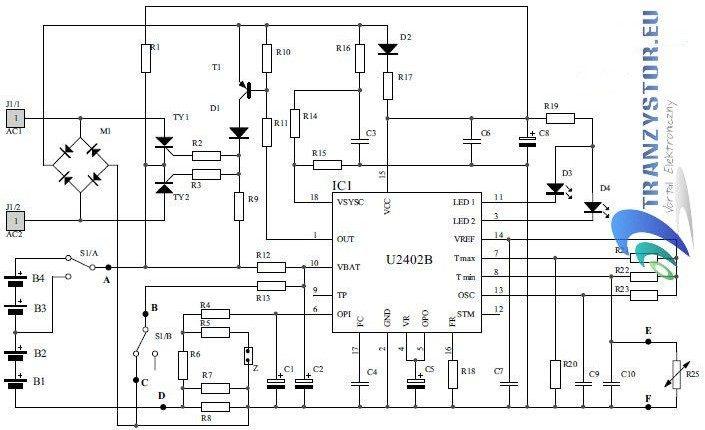 Szybka ładowarka akumulatorków Ni-MH i Ni-Cd