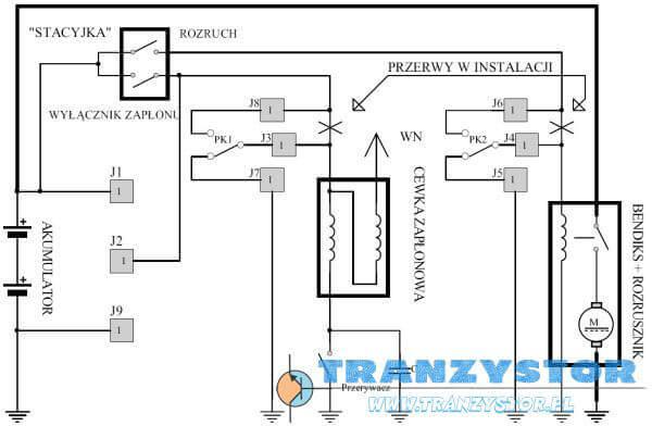 Immobilizer samochodowy schemat podłączenia