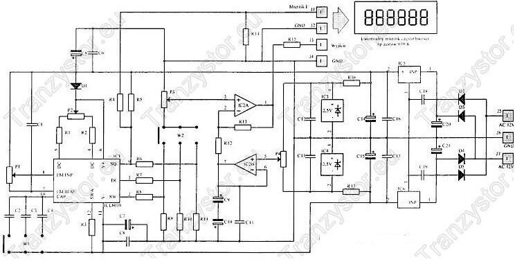Warsztatowy generator funkcji 0,2Hz-200kHz
