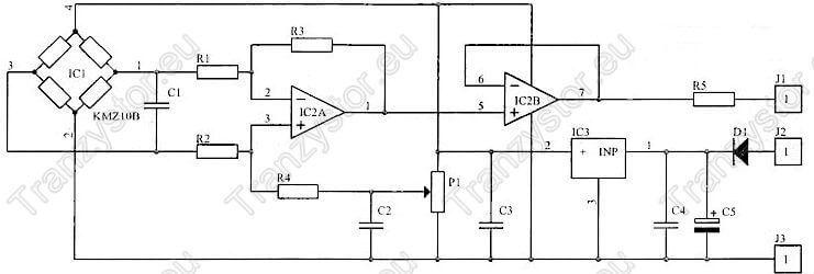 Miernik do bezinwazyjnego pomiaru prądu