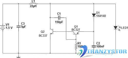 Dioda LED zasilana 1.5V