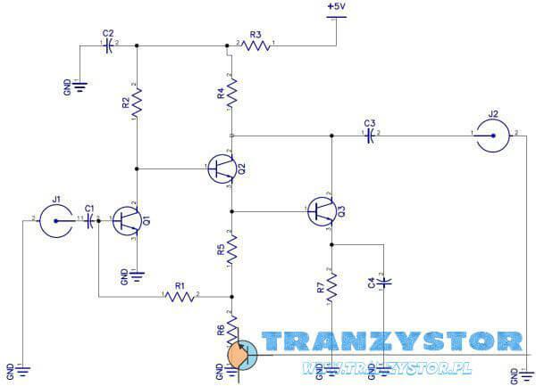 Wzmacniacz szerokopasmowy 100MHz do 4GHz, Zysk - 30dB