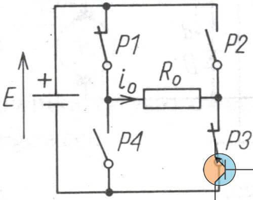 Falownik układ mostkowy