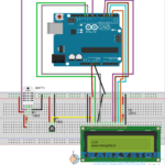 Arduino – DHT11 / DTH22 termometr LCD