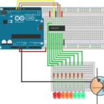 Arduino – Rejestr przesuwny 74HC595