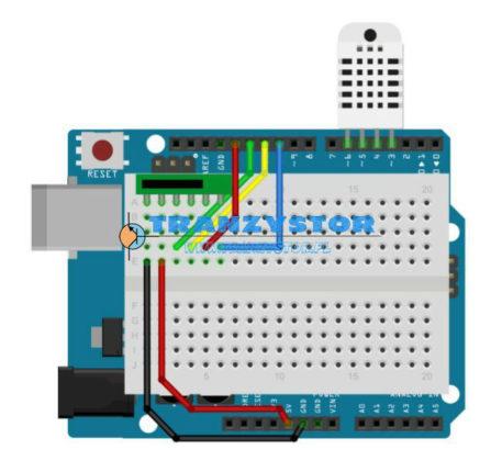 DHT11 / DTH22 zapis danych na kartę SD