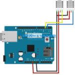 Arduino – DHT11 / DTH22 termometr LAN v2