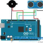 Arduino – mini alarm HC-SR04