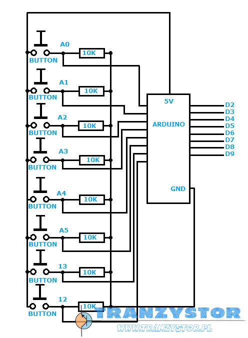 Arduino - sterowanie przekaźnikami