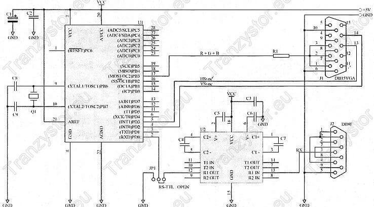 Interface VGA do systemów mikroprocesorowych