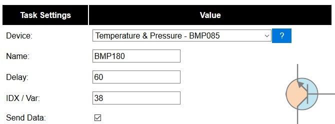 Czujnik temperatury i ciśnienia BMP180 / BMP085
