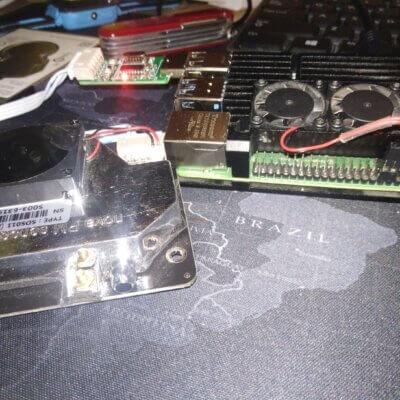 Czujnik PM 2.5 oraz PM 10 z interfejsem www SDS011
