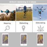 Dron do neutralizowania min
