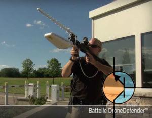 Broń na drony - Drone Defender