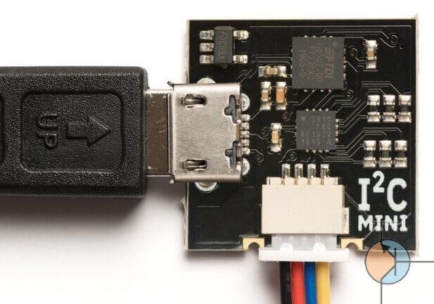 Mini mostek I2C