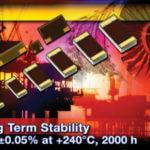 Rezystory chipowe o dobrej stabilności w wysokich temperaturach