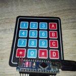 Arduino – Obsługa klawiatury membranowej 4×4