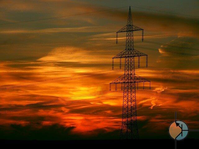 linie energetyczne grafika