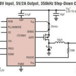 60W kontroler przetwornicy typu DC-DC step-down LTC3864