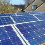 Solary gonią wiatraki
