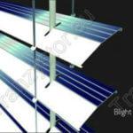 Magazynujące energię słoneczną żaluzje okienne