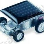 Najmniejszy samochód zasilany energią słoneczną