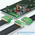Połączenie wtykowe o wydajności 125A do PCB