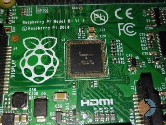 Uszkodzone Raspberry Pi B plus