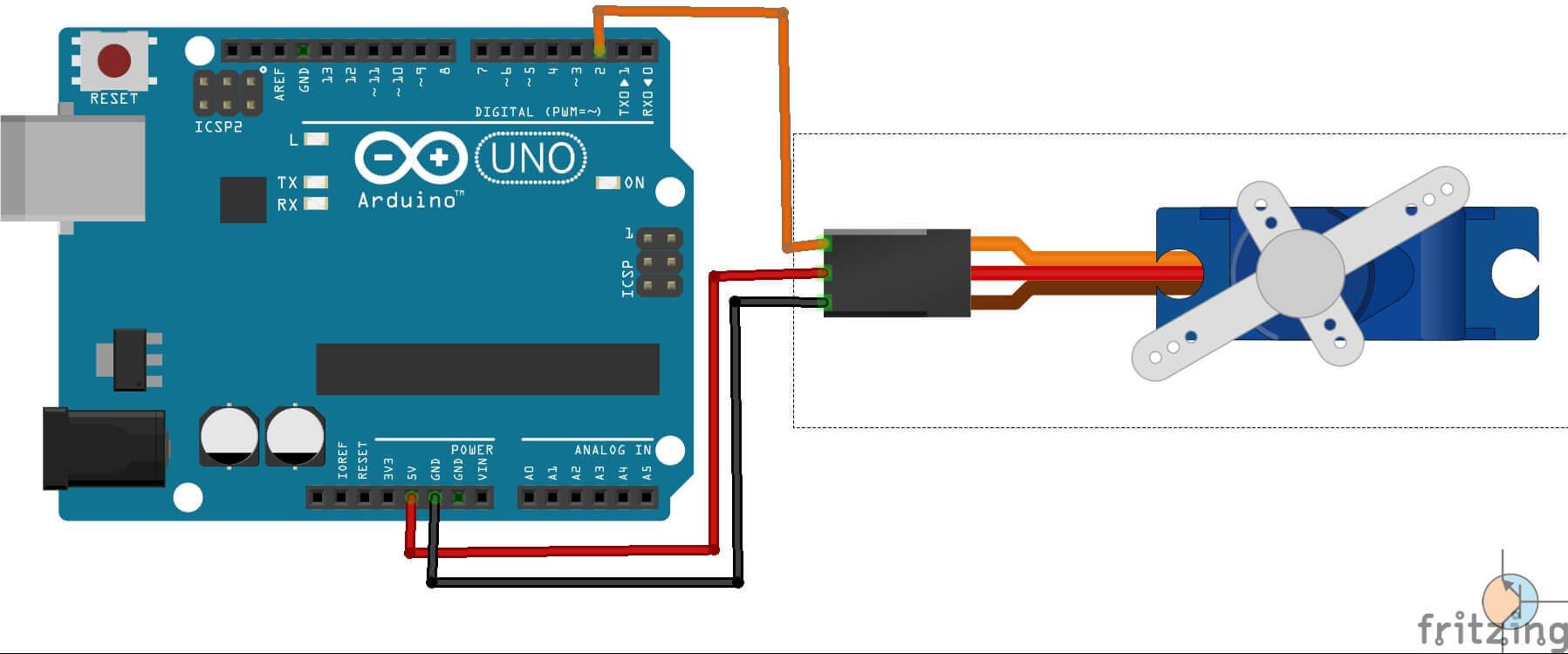 Arduino – Serwo SG90 jak sterować