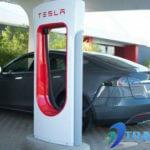 Tesla ładowanie samochodu w 5 minut